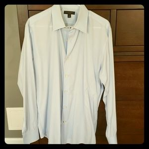 Baby Blue Men's Dress Shirt